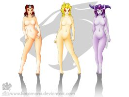 ::Thundercats Girls:: Wallpapr by katomanX