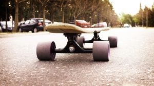 Longboard Conflict by rdrg