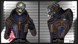 Mugshot - Garrus by The-JoeBlack
