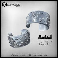 City Lights Bracelets - Silver by Aedil