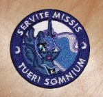 Luna - Serve the Masses Protect the Dream by EthePony