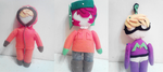 SP plushies- in progress by edenfire57