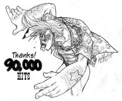 Over 90,000 by KaleiC