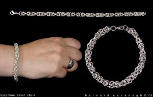 Byzantine Silver Chain by horai