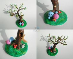 Tree in the spring - some more details by GemDeDude