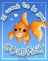 Gold Fish Card Vday by JohnYume