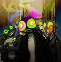 FROGS by OrangeDjuice