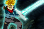 Trunks Spirit Bomb Sword by redchaos187