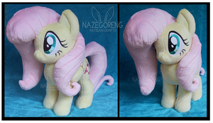 Commission: Fluttershy Custom Plush by Nazegoreng
