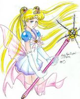 Sailor moon Neocrystal style by cherryhobbit