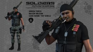 Soldiers Character Prototype 2 by Poser96