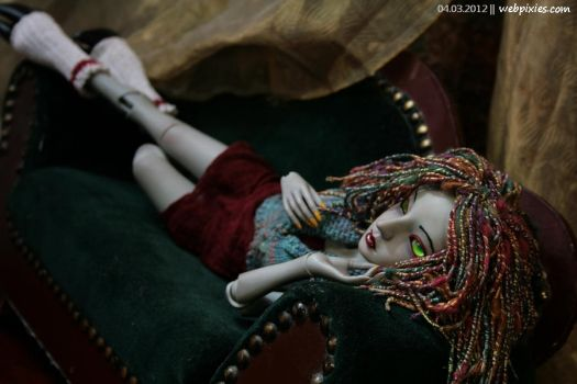 Lounging Lenore 3 by pervyfaerie