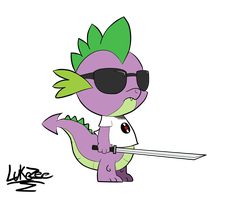 Spike Strider is a bamf by Lukezee
