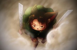 cat Levi by A39