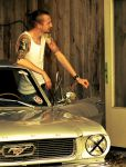 1966 GT coupe Mustang and me by Tintino