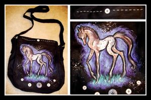 Appaloosa Horse Bag by IceandSnow