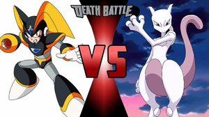 Bass vs. Mewtwo by MetalHarbinger084