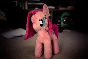 Pinkamena Plushie from PlushieScraleos 2 by AnnieTheEagle
