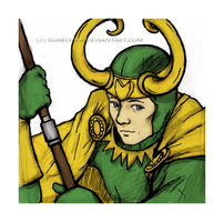 Old school Loki by GoreChick