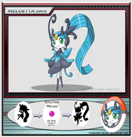 Alternative Evo: Mega Meloetta by PEQUEDARK-VELVET