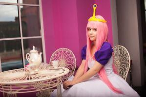 Princess Bubblegum by mercurygin