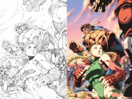 Street Fighter II 5 Cover by UdonCrew