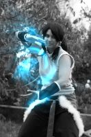 Avatar Legend of Korra air bending by LadyDmc