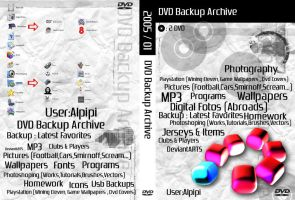 My backup Archive DVD cover by Alpipi