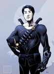 Dick Grayson Talon by Kingofthieves