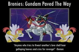 MLP: Gundam Fights are Magic by sirmanguyperson