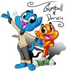 Gumball and Darwin by shaloneSK