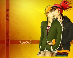 RenIchi wallpaper by SadistSeraphim