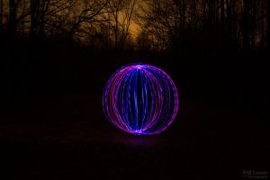 Orbs At The Park 5 by WillLeavey