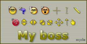 My boss cursor by apbaron