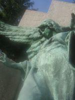 angel statue 02 by CotyStock