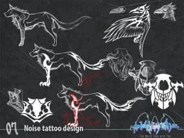 Noise tattoo design by wewy