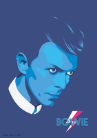 David Bowie - Vector by funky23