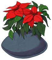 Poinsettia for Patience by khiton