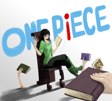 One Piece - Reading session by MadCookiefighter