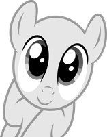 Cute stare Base - Stallion by RAGErER