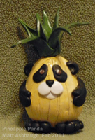 Pineapple Panda by MattOfSteel