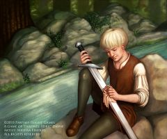 Edric Dayne - Game of Thrones by MelissaFindley