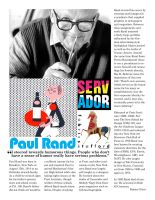 Paul Rand by EmmaL27