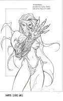 Witchblade inks by ddcobbs