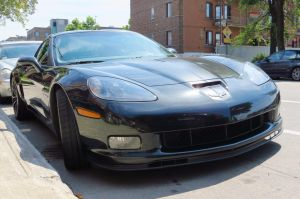 2012 Corvette Z06 100th Anniversary - Front View by Kitteh-Pawz