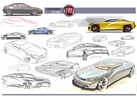 Fiat Coupe Redesign by magao