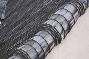 00079 - Overlapping Wooden Shingle Roof by emstock
