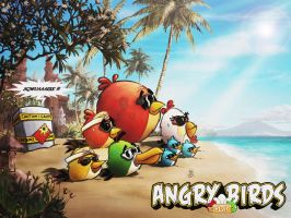 ANGER MANAGEMENT..ON HOLIDAY by sanggara