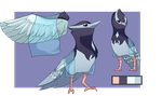 fanmade fletchinder Alola form by Sinomis