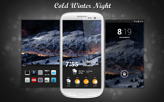 Cold Winter Night by Whiteboy997